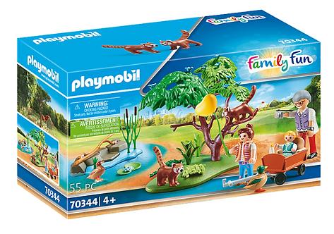 Playmobil 70344 Red Panda Habitat