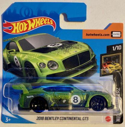 Hot Wheels 2018 Bentley Continental GT3