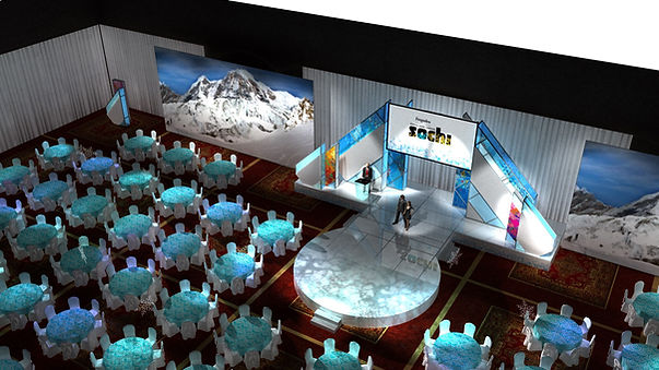 Sens Soiree 2014, FergusLea, Sochi Olympics