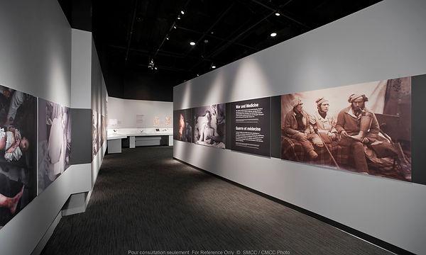 War and Medicine Museum Exhibit, Introduction Corridor, McCrae Gallery, Canadian War Museum