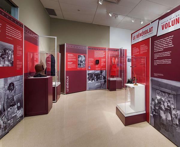 World War Women, Travelling Exhibition, Volunteering