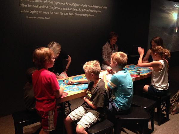 Journey of Odysseus, Museum Board Game