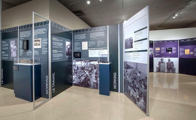 World War Women, Travelling Exhibition, Canadian War Museum