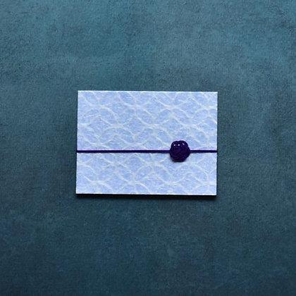 メッセージカード二つ折り 土佐和紙(うすはな)