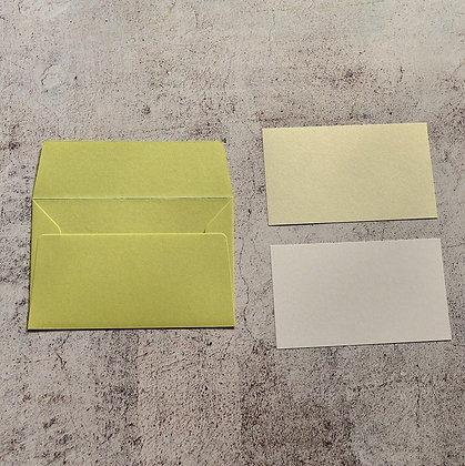 メッセージカード わさび(105 x 70)