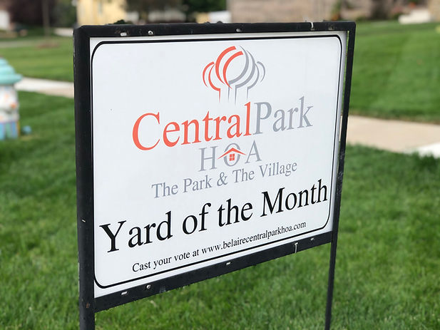 Central Park Bel Aire Kansas Yard of the