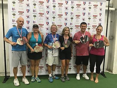 2019 Slug Fest Mixed Doubles 4.0 Medal W