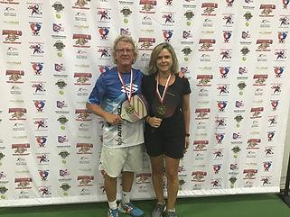 2019 Slug Fest Mixed Doubles 4.0 Gold Me