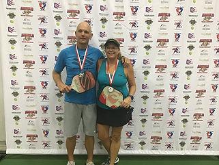 2019 Slug Fest Mixed Doubles 4.0 Silver