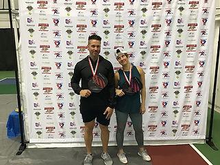 2019 Slug Fest Mixed Doubles 3.0 Bronze