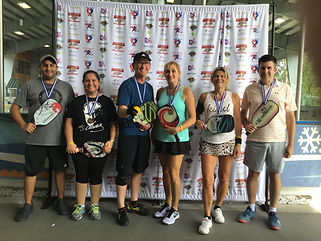 2019 Rumble Mixed Doubles 3.0 to 4.0 Med