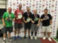 2019 Slug Fest Men's Doubles 4.5 Medal W