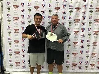 2019 Slug Fest Men's Doubles 4.5 Bronze