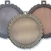 Pickleball Medal 2.25 inch Blank no engr