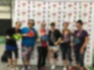 2019 Slug Fest Women's Doubles 3.0 Medal