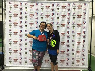 2019 Slug Fest Women's Doubles 3.0 Bronz