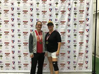 2019 Slug Fest Women's Doubles 3.0 Gold