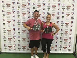 2019 Slug Fest Mixed Doubles 4.0 Bronze