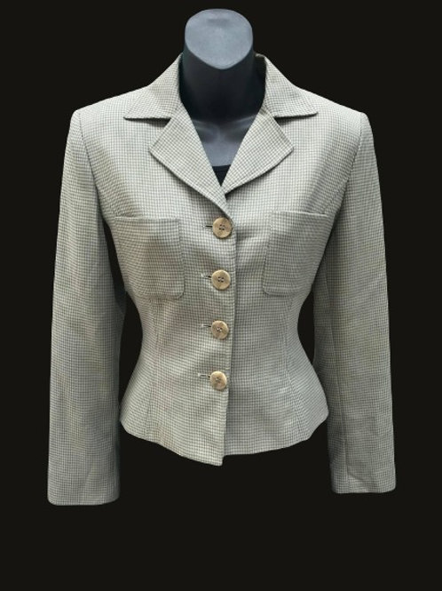 Barami Couture Tweed-Look Blazer