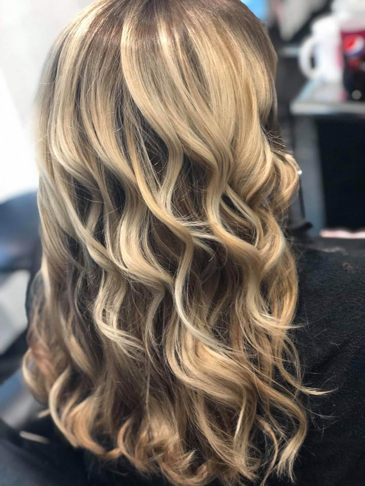 colour, cut & curly blowdry
