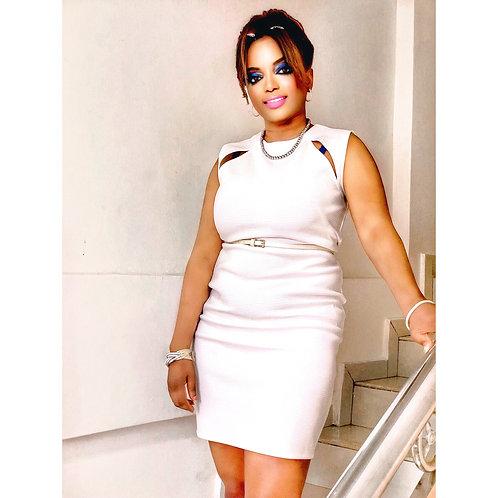 White box dress