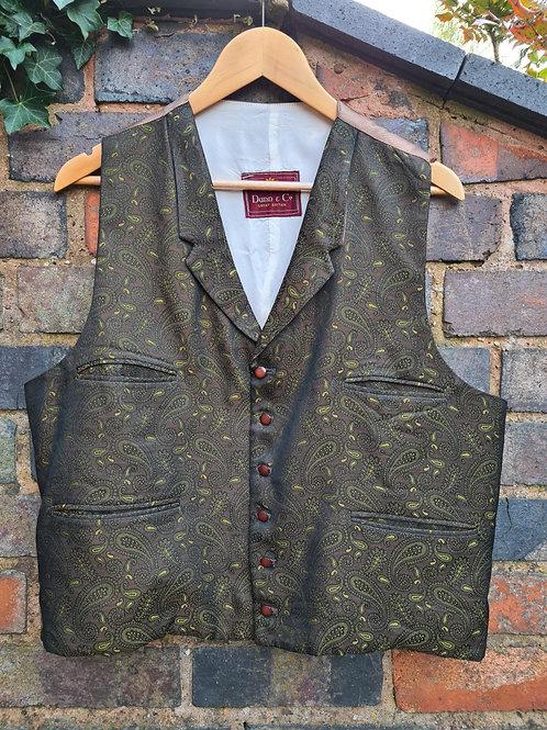 "Vintage 60's Waistcoat by Dunn & Co 44"" / 112cm Chest"