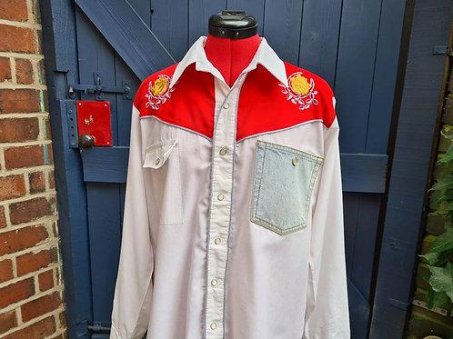 Customised Western Shirt L