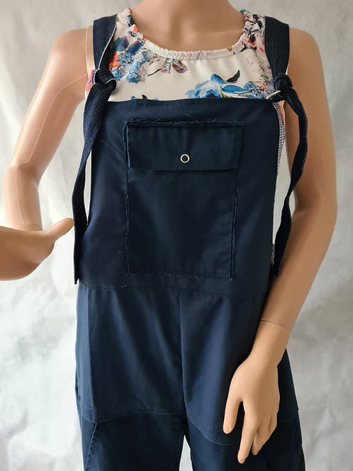 Upcycled Overalls / Dungarees M