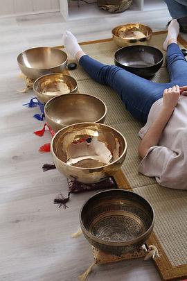 Ce sont des bols tibétains