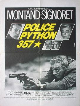 真夜中の刑事 / PYTHON 357 1976年 アラン・コルノー監督