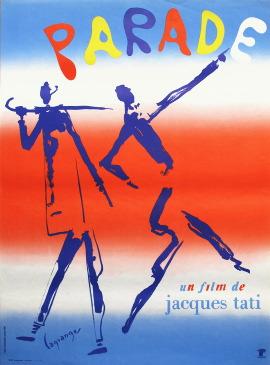 パラード 1974年 ジャック・タチ監督