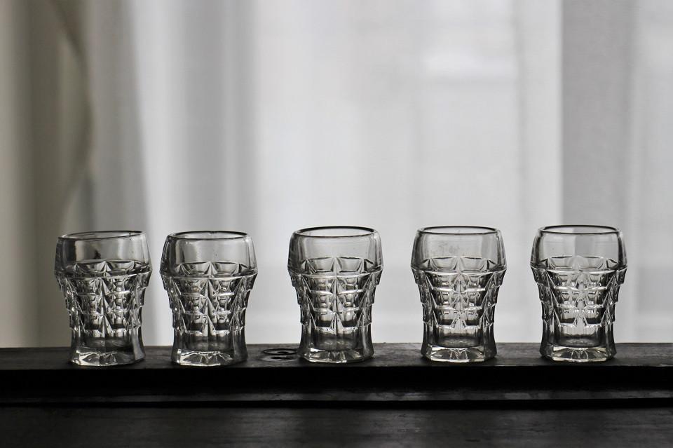 フランス アールデコなウイスキーグラス