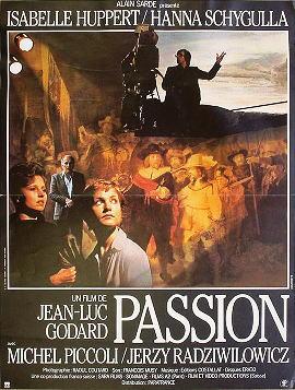 パッション 1982年 ジャン・リュック・ゴダール監督
