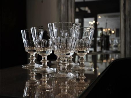 バカラ「コニーク」のワイングラス再入荷