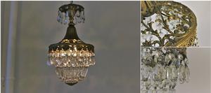 ハンギングランプ 1灯式 フレンチシャンデリア