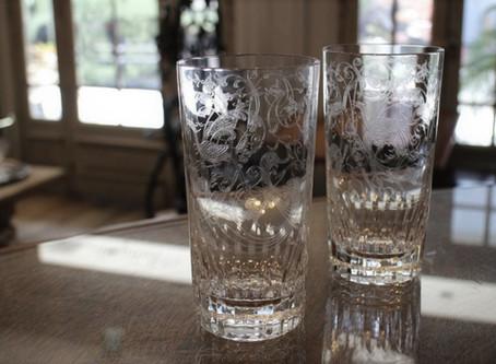 バカラの人気シリーズ「パルメ」タンブラーとロックグラス再入荷しました