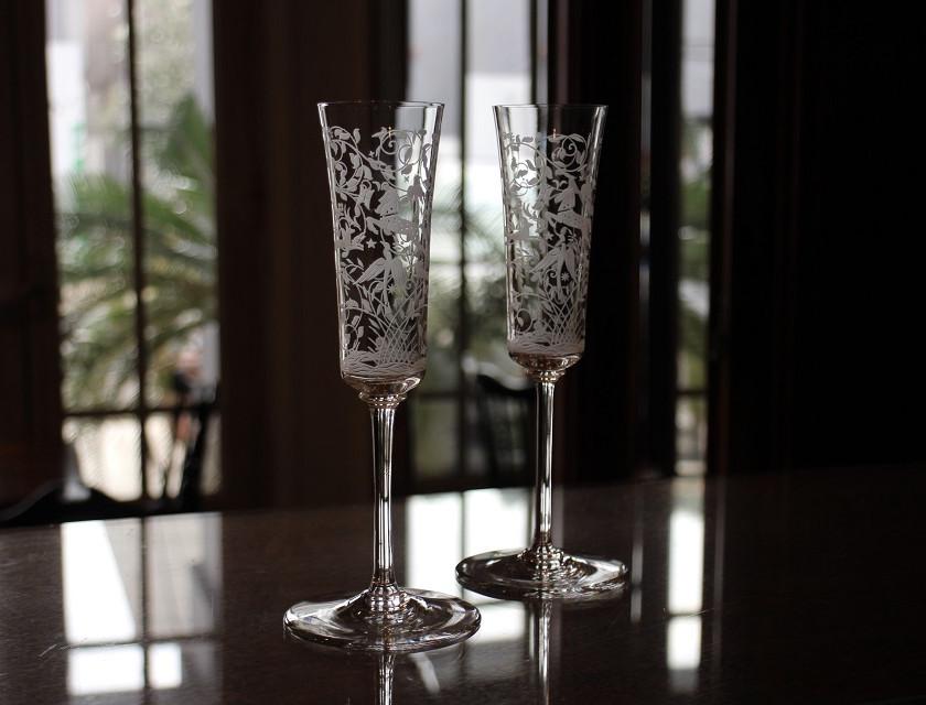 バカラ レイラ[LEILA] シャンパンフルート