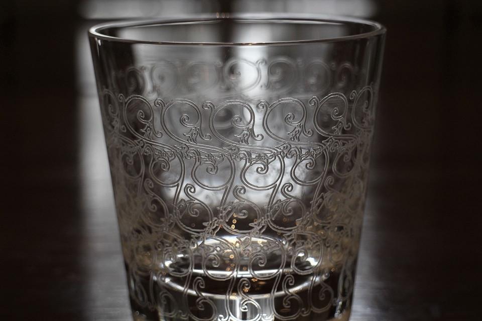 バカラ ローハン ロックグラス 98mm  ¥22,000