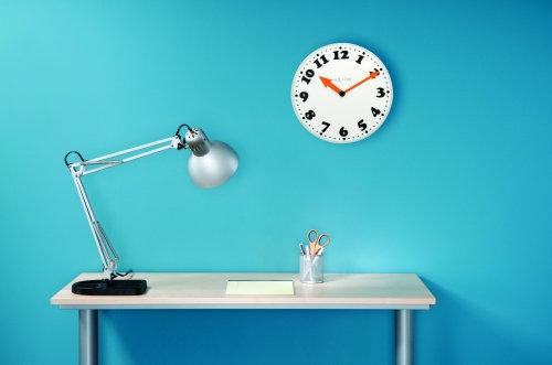 NeXtime Boy designer room wall clock, NeXtime Boy szép nagyméretű analóg design falióra olcsón, mooie moderne wandklok