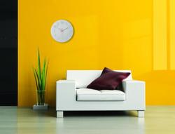 NeXtime Classy Round 30 cm glass decor wall clock