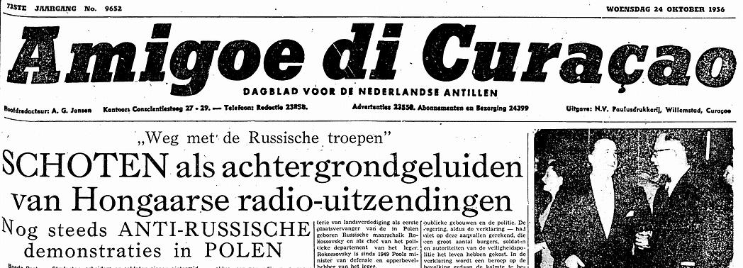 Amigoe di Curaçao 24-10-1956