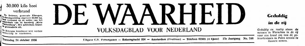 De Waarheid 24-10-1956