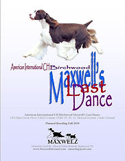 Maxwell's Kennel Advertising