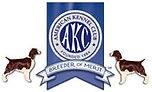 Maxwell's Logo with AKC Breeder of Merit LOGO