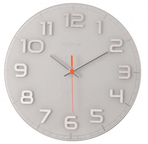 NEXTIME 8817WI CLASSY ROUND_wall_clock_f