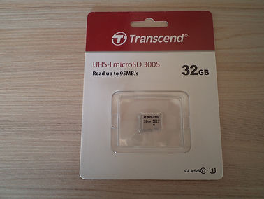 Transcend 32 GB micro SD card UHS-I 3.JP