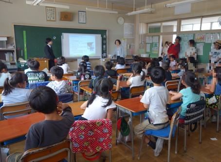 霞ケ関西小学校での写真授業