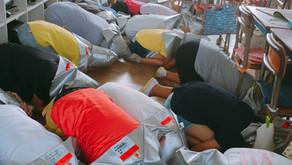 仙波小 避難訓練見学