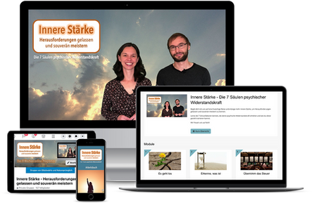 Innere Stärke dank Resilienz Online Kurs