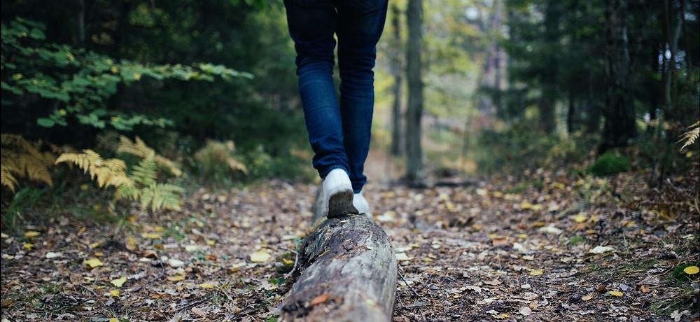 Waldbaden allein